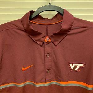 Virginia Tech Performance Polo